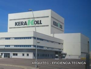 ARQUITEC EFICIENCIA TECNICA ARQUITECTO TECNICO APAREJADOR SEGURIDAD INFORME CERTIFICADO TASACION TASADOR PERITO FORMADOR ZAFRA VILLAFRANCA DE LOS BARROS ALMENDRALEJO  KERAKOLL IBÉRICA, The GreenBuilding Company, en Castellón de la Plana